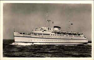Schiffsfoto-Echtfoto-AK-1960-Schiffspost-Stempel-Faehre-Faehrschiff-DEUTSCHLAND