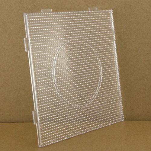 Artkal Steckplatte für 2,6 mm Bügelperlen 14 x 14 cm Quadrat
