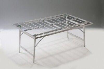Tavoli Pieghevoli Per Ambulanti Usati.Banco Ambulanti Per Bancarelle Banchi Per Mercati Alluminio Pieghevole 80x150x63 Ebay