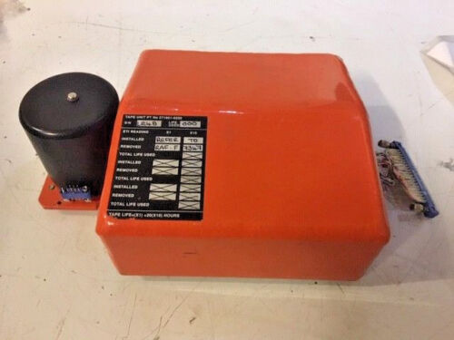 Aircraft Panavia Tornado Flight Data Recorder Tape Unit 5895-99-572-5676 EX-MOD