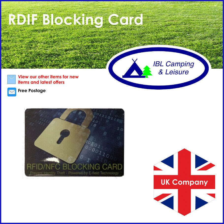 UK Signal Blocking Card Credit/Debit Card Blocker Protector Anti theft