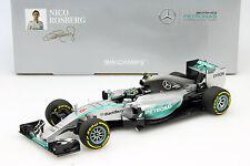 Nico Rosberg Mercedes f1 w06 Hybrid #6 2nd USA GP Formula 1 2015 1:18 Minichamps