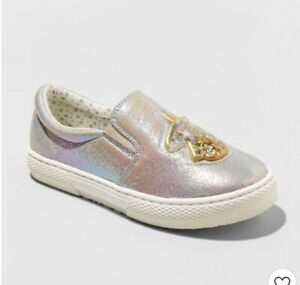 Jack Silver Shoes Size 5 Big Girls