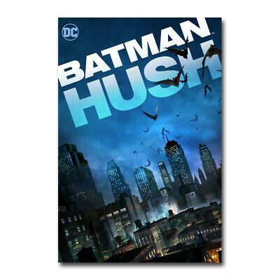 Batman Hush 2019 Animated DC Comics Movie Art Silk Canvas Poster Print 24x36 /'/'