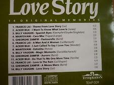 Love Story - 14 Original Memories FRANCIS LAI ACKER BILK BILLY VAUGHAN MANTOVANI