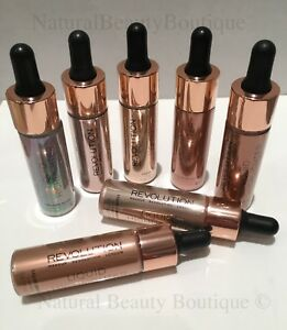 Makeup revolution liquid highlighter luminous luna