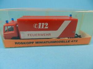 ROSKOPF-472-MERCEDES-BENZ-METZ-FEUERWEHR-GERATEWAGEN-GEFAHRGUT-1-87