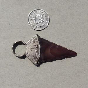 an-old-silver-and-agate-pendant-hair-bead-tuareg-mali-mauretania-38