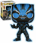 Funko Pop! Marvel Movies: Black Panther - Black Panther (273) Bobble Head Figure, Glows in the Dark