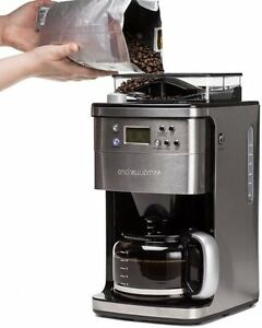 Coffee Machine Espresso Grinder Maker Bean To Cup Home Office Cups eBay