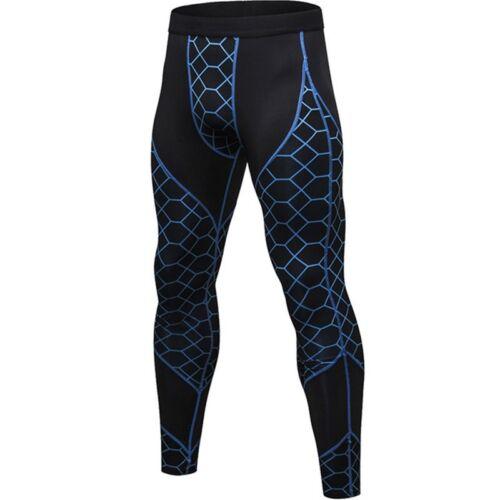 Men/'s Compression Pants Quick Drying Slim Trousers Fitness Yoga Soft Legging