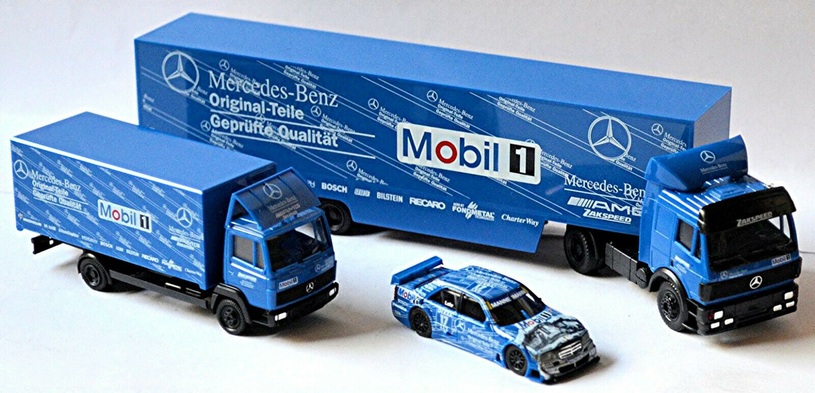 Mercedes Benz Set DTM ´95 Original Piezas Zakspeed Racing E. Lohr 1 87