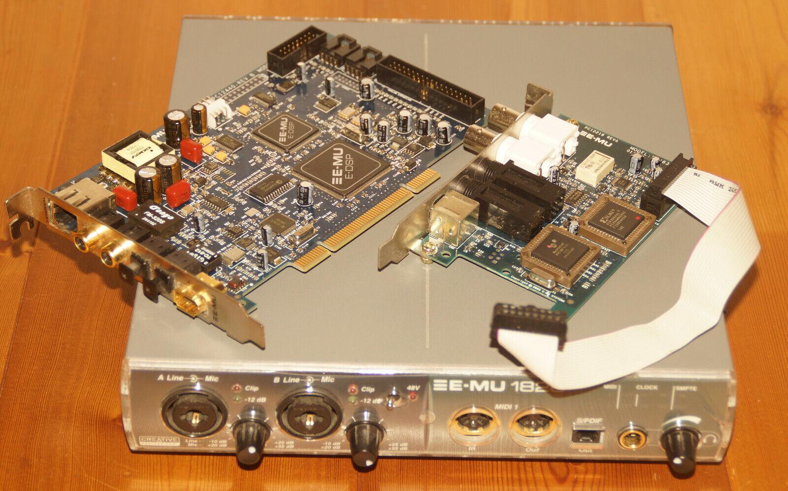 Creative Professional E-mu EMU 1820m Audio Interface Studio System für PC