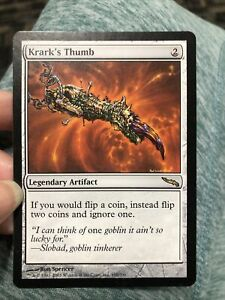 MTG NM Krark/'s Thumb Mirrodin