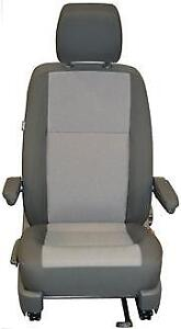 VW-Transporter-T6-T5-Front-Single-Passenger-Seat-Cover-Austin-Titanium-Black