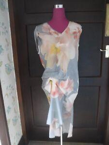Ottime Floral Dress Grigio Size condizioni Saints 10 All Incredibile V Blossom IF14zY