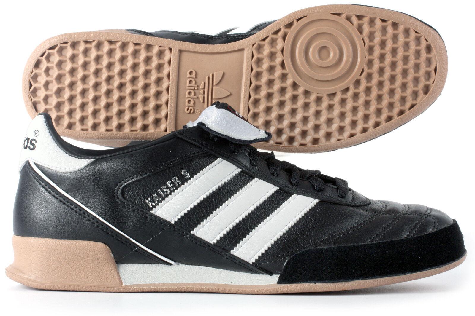 adidas Man Kaiser 5 Goal Indoor Football Bottes Studs Trainers Sports Shoes Noir