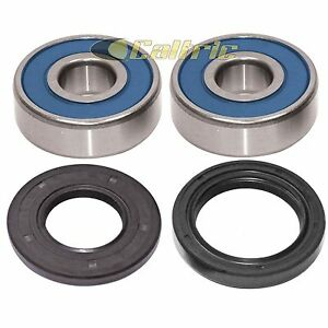 Front Wheel Ball Bearing and Seals Kit Fits KAWASAKI ZG1000 Concours 1000 86-93