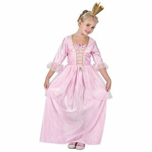Image is loading Childs-PRETTY-PRINCESS-Pink-Fancy-Dress-Medieval-Costume-  sc 1 st  eBay & Childs PRETTY PRINCESS Pink Fancy Dress Medieval Costume Girls ...
