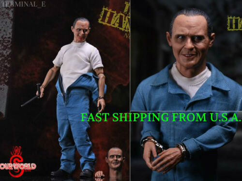 1//6 The Silence of the Lambs Hannibal Anthony Hopkins Figure Set 2.0 ❶IN STOCK❶