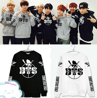BTS Bangtan Boys Kpop tour jumper sweater cotton unisex Kpop New