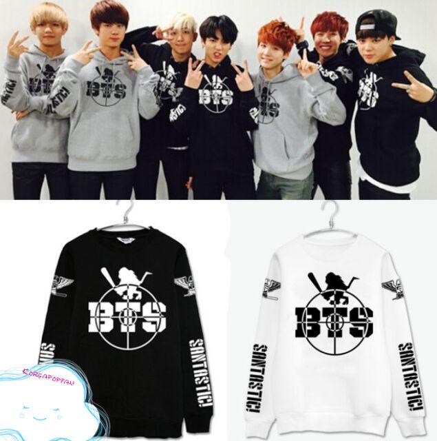 BTS Bangtan Boys Kpop tour jumper sweater cotton unisex Kpop New