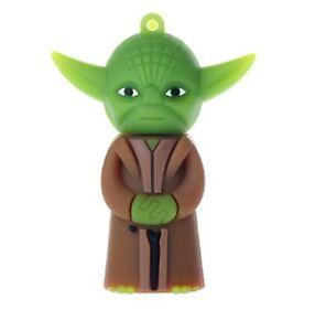 16 Go Master Yoda A Star Wars Usb Flash Pen Drive Memory Stick New Pendrive Hndc-afficher Le Titre D'origine Doux Et AntidéRapant