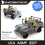 Army-Tank-Vehicles-1711-Panzer-USA-German-Building-Block-Toy-Compatible-Jeep-Kid thumbnail 9
