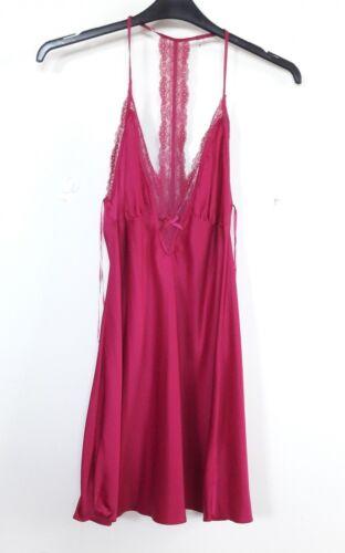 02 WOMEN/'S Raso Camicia Da Notte Cami taglie UK 8-22