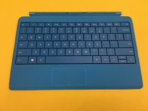OEM Microsoft Surface 2 Pro RT Type Cover 2 Keyboard Model 1561 Cyan Blue Gr A