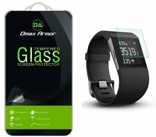 [3-Pack] Dmax Armor Tempered Glass Screen Protector For Fitbit Surge