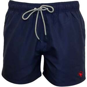 e122c6a56c Ted Baker Classic Men's Swim Shorts, Navy with red contrast | eBay