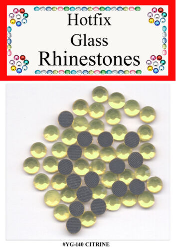 HotFix Rhinestones Glass Crystals for Quilting Sewing Scrapbooking Crafts dolls