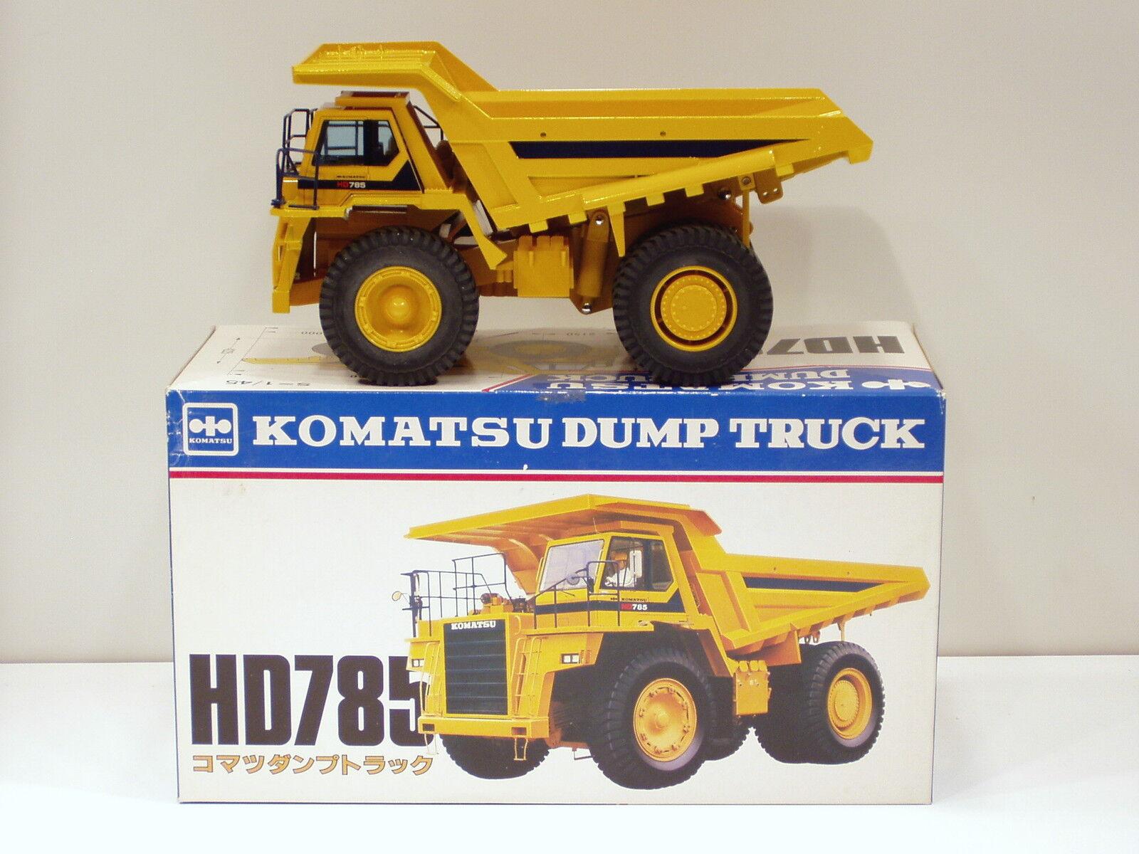 Komatsu HD785 DUMPER  145  Shinsei  658  Nuovo di zecca con scatola