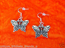 BUY 3 GET 1 FREE~BUTTERFLY SILVER EARRINGS~MOTHERS DAY GIFT FOR HER WIFE FRIEND