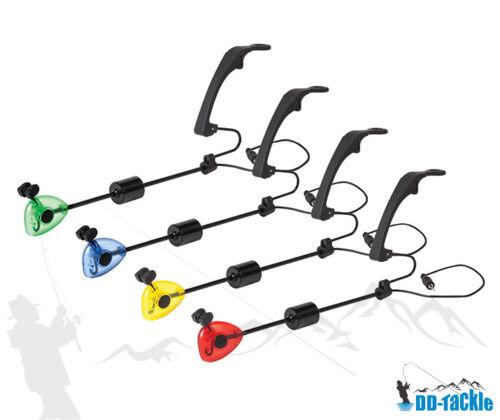 DD-Tackle 4er Set//unique hängebissanzeiger Drop pendule Remorque Bait alarme