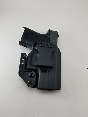 Polymer 80 holster pf940sc Holster Thin Blue Line Flag kydex IWB with claw 26 27