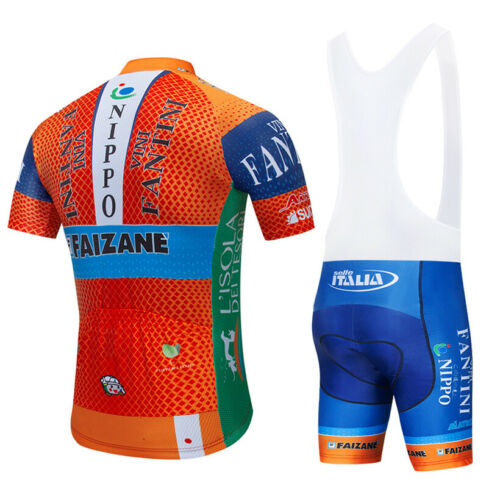 Completo ciclismo estivo 2019 abbigliamento maglia salopette 20D Bib Shorts MTB