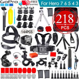 Basic-Accessories-Bundle-Kit-for-GoPro-Hero-4-Black-Silver-HD-Hero-7-6-5-4-3-2