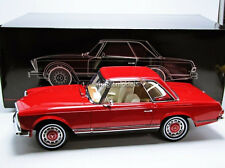 Premium Classixxs 1968 Mercedes Benz 230 SL Pagode W113 Hard Top Red 1/12 New!