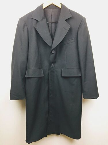 Wah Maker Frontier Clothing Long Trench Coat Black