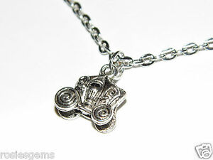 Carriage Necklace One Off Brand New Silver Fashion Jewelry 3D Design - Faversham, Kent, United Kingdom - Carriage Necklace One Off Brand New Silver Fashion Jewelry 3D Design - Faversham, Kent, United Kingdom