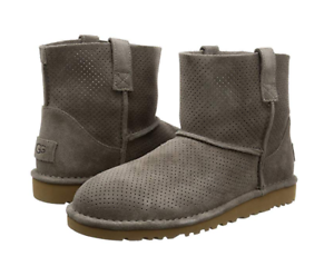 b9a71a81150 Details about UGG Women's Classic Unlined Mini Perforated Spring Boot  STYLE#1016852, SIZE 6-10