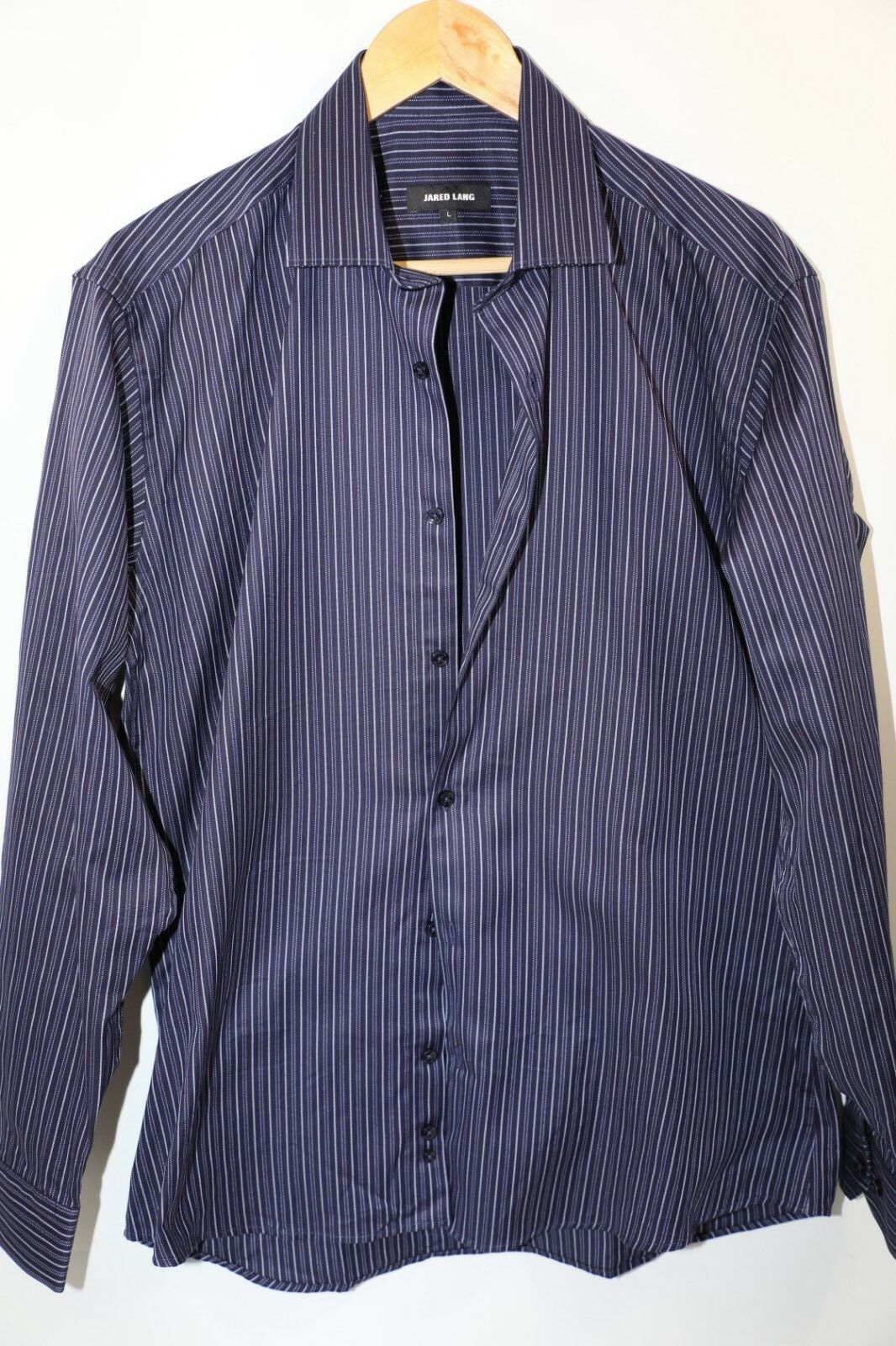 Jared Lang Long Sleeve Sports Shirt Size L