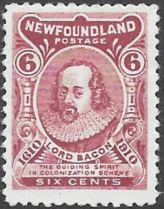 Newfoundland-Scott-Number-92A-FVF-H