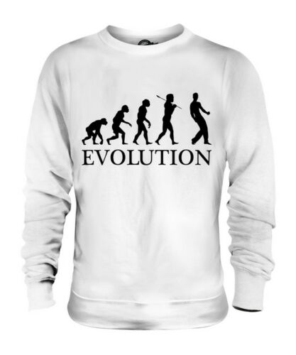 AIR GUITAR EVOLUTION OF MAN UNISEX SWEATER MENS WOMENS LADIES FUNNY CLOTHING free shipping