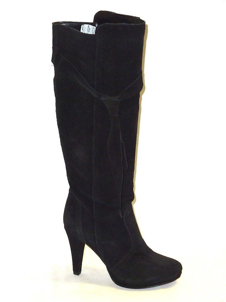 Zapatos especiales con descuento BOTAS DE MUJER ALTO NOVEDAD INVIERNO ANTE NEGRO PLATAFORMA SEXY DE MODA 37