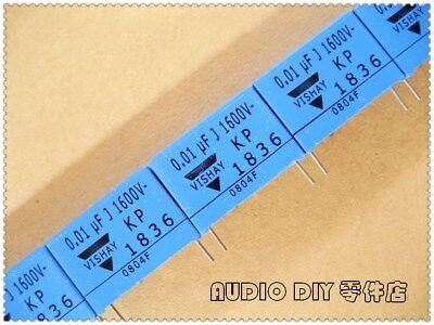5pcs VISHAY 10nF 103 ERO KP1836 Series 0.01uF//1600V 5/% Film Capacitor