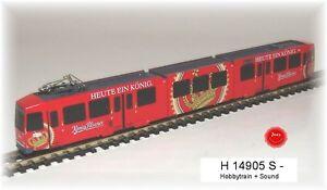 Hobbytrain-14905-S-Tram-Duwag-M8-Muhlheim-Kopi-Sound