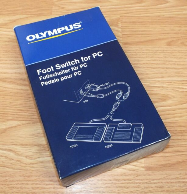 OLYMPUS RS25 FOOT PEDAL WINDOWS XP DRIVER
